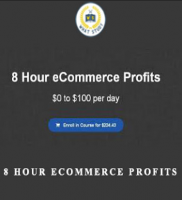 8 Hour eCommerce Profits – $0 to $100 Per Day