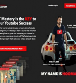 YouTube Mastery 2019 $997 – Learn How To Make $60,000+ Per Month With YouTube 2