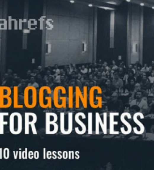aHrefs Academy - Blogging for business